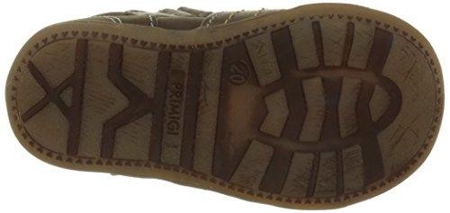 Primigi Dany E - Zapatos de Primeros Pasos, Bebé-Niñas Marrón (Nabuk/Vitello Safari/Salvia)