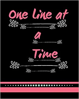 Amazoncom One Line At A Time Gratitude Yourself Journal