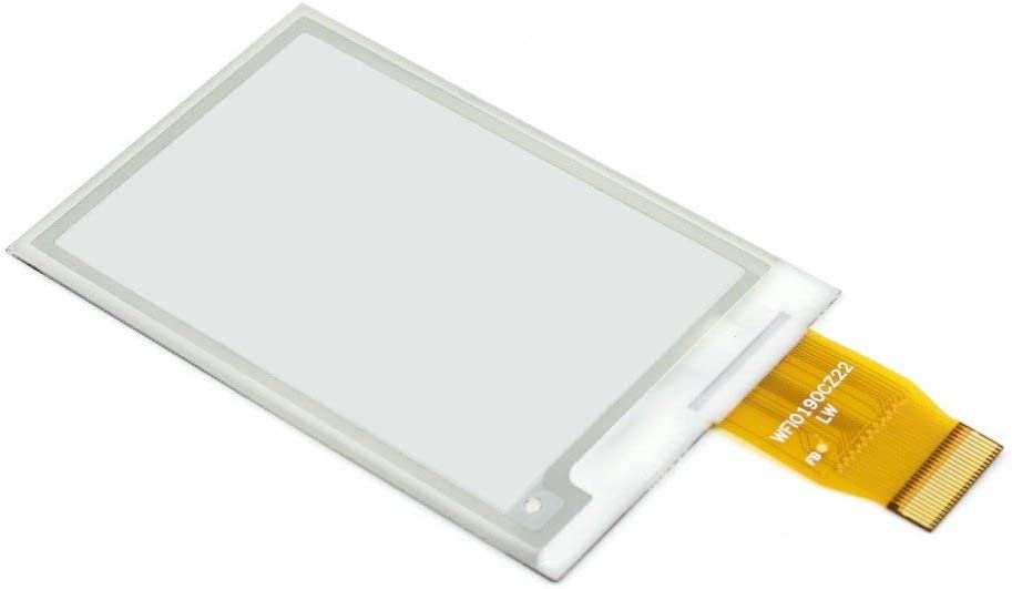 waveshare 2.7inch E-Ink Raw Display Panel 264x176 Resolution E-Paper Display eink Screen epaper Without PCB with Embedded Controller SPI Interface Support Full Refresh