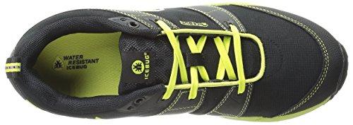 Traction Running BUGrip Pytho3 Men's Black Studded Icebug Poison Shoe qxSw4BTz