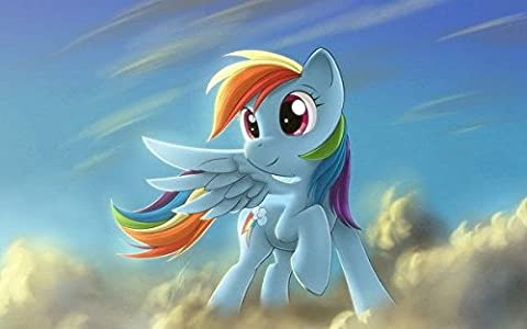 makeuseof 017 My Little Pony Friendship is Magic - Rainbow Dash Hot TV 22