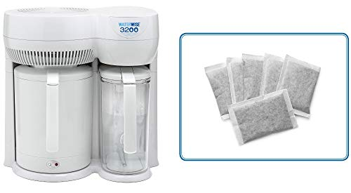 (Waterwise 3200 water distiller w/6 pack filters)