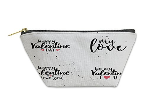 Gear New Accessory Zipper Pouch, Happy Valentines Day, Small, 6051307GN by Gear New