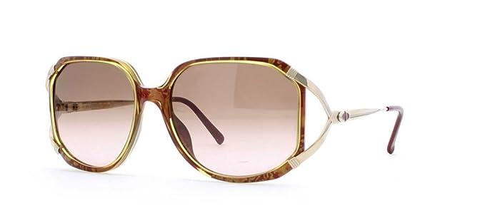 Amazon.com: Christian Dior 2690 30 Marrón y oro Authentic ...