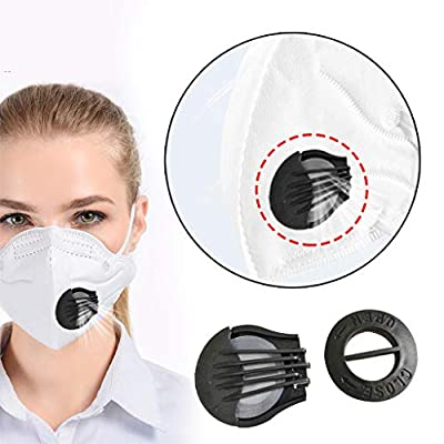 (in Stock) Blingdots Width Braided Elastic Band, 40Pc Outdoor Anti-Dust Face Mouth Filter Air Breathing Valves Replacements, Handmade String for Sewing DIY: Sports & Outdoors