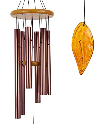 Amazing Tone Music - Wind Chimes Outdoor Large Deep Tone|36'Memorial Wind Chimes with Metal Tubes Tuned to Amazing Grace Produce Soothing Music in Memory Favorite People |Perfect Memorial Gift for Your Home, Yard Décor