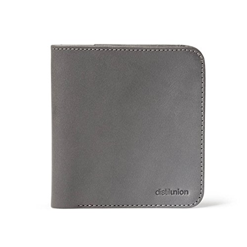 Agent Wallet Slate Minimalist Leather Bifold Men Distil Wally Thin Genuine Union For PqgwAE