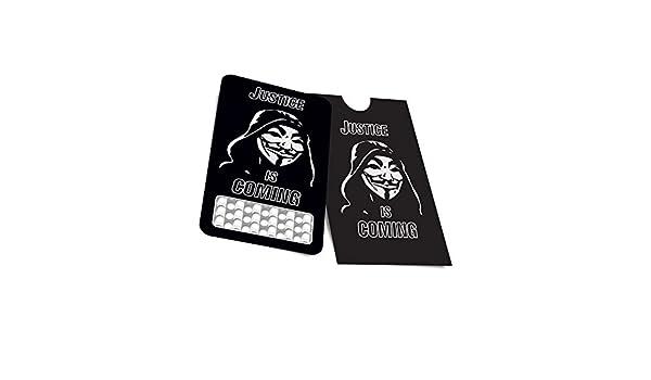 Grinder tarjeta Anonymous: Amazon.es: Hogar