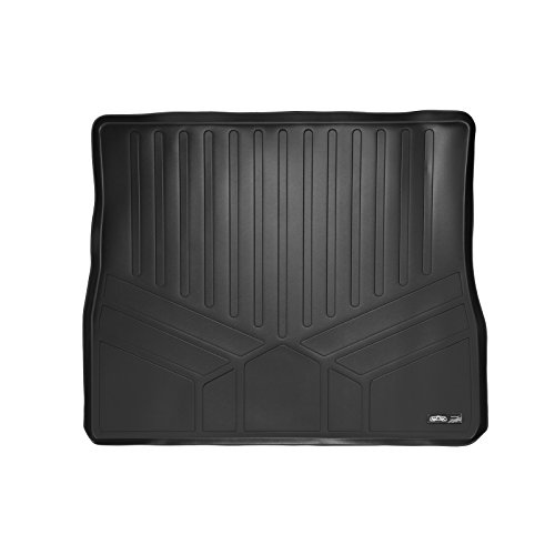 2012 2nd Row Floor Mats - SMARTLINER All Weather Cargo Liner Floor Mat Behind 2nd Row Black for 2011-2018 Toyota Sienna