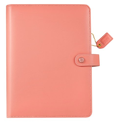 Webster's Pages - Carpeta para personal A5, Rosado