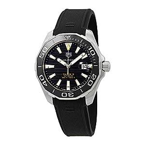 Tag Heuer Aquaracer Reloj automático con esfera negra para hombre WAY201A.FT6142 1