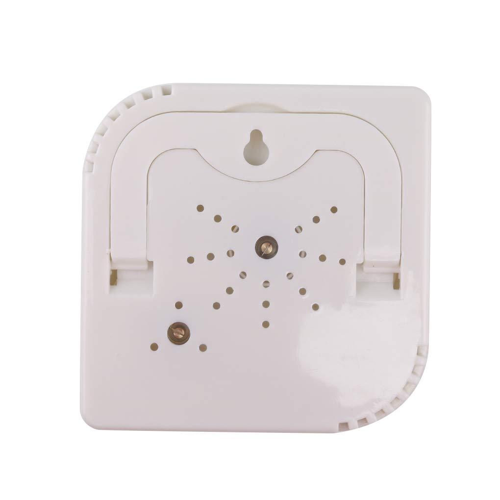 Demino A7 Zucca a Forma di Coperta Mini Desk Termometro Wet igrometro Bianco