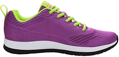 PYPE Sneakers Knitted US Mesh Size Training Lady Purple 9 UPwnqzCg