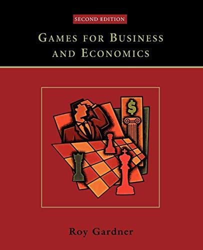 Games Business Economics 2e