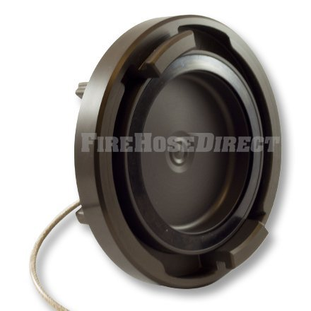 Aluminum 4'' Storz Cap with Cable by FireHoseDirect (Image #2)