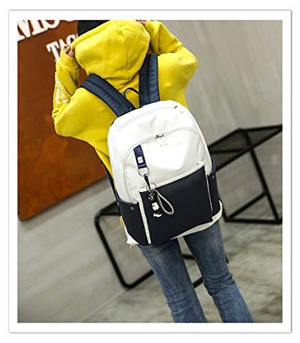 Fashion Capacità Student Bag B Nylon Zaino Esterni Alta Collegio Selvaggio Panno Vento Borsa Impermeabile Luce Vhvcx Fwq6OSxS