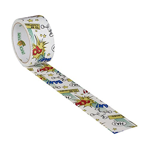 Duck Brand 282223 Printed Duct Tape, Comic Book, 1.88 Inches x 10 Yards, Single Roll by Duck (Image #3)