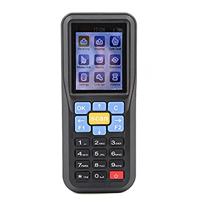 """Seesii NTEUMM 2.4"""" Color LCD Mobile Terminal 433Mhz Wireless Barcode Scanner Data Collector Inventory"""