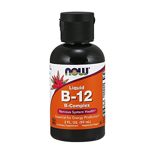 NOW B-12,Liquid B-Complex, 2-Ounce