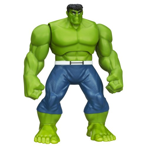 Marvel Hulk and the Agents of S.M.A.S.H. Shake 'N Smash Hulk Figure (Hulk And The Agents Of Smash Games)