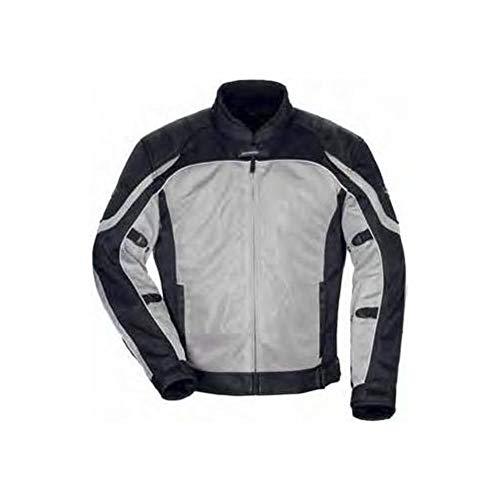 TourMaster Womens Intake Air 4.0 Jacket Silver/Black - Signature Adventure Waterproof Jacket