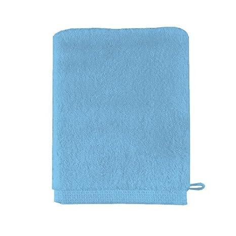 Essix - Gant de Toilette Aqua Coton Bleu Marine 16 x 21 cm Essix Home Collection
