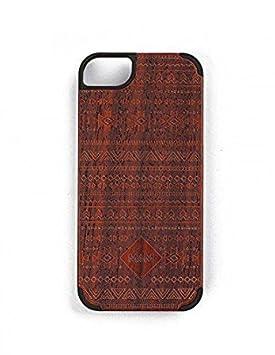 MAM Originals · Aztec Red | Carcasa de iPhone 5 | Carcasa de madera de sándalo