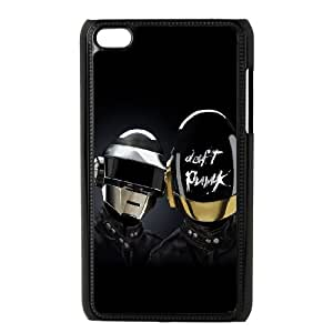 iPod Touch 4 Case Black Daft Punk Cute Music Face SUX_175193