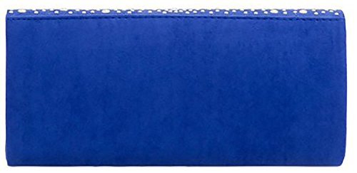 Ladies Pearl Bag Rain Fold Shine Leather Bead Royal Faux You Clutch Designer 6q7Ir6