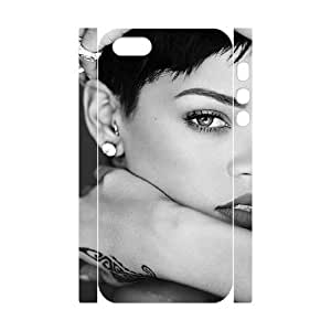 C-EUR Cell phone Protection Cover 3D Case Rihanna For Iphone 5,5S