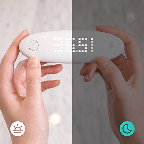 Earmo Termómetro de Oído Médico para Niños y Adultos - TecnologÍa Infrarroja para una Mayor Exactitud con Gran Pantalla LED Táctil (Blanco): Amazon.es: ...