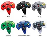 New Nintendo 64 N72 Controller Gray 10 Function Buttons Turbo Function Slot For Memory Car