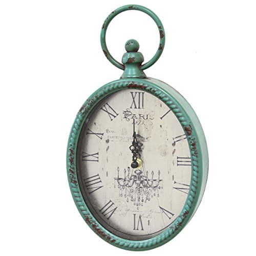 Stratton Home Decor SHD0008 Stratton Home Decor Antique Oval Clock