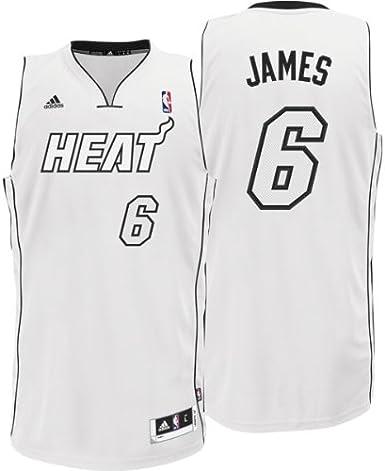 lebron james white hot jersey