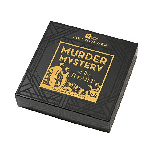 Talking Tables Host Your Own Murder Mystery Game, 5-12 Players, 1920s Dinner Party (Best Murder Mystery Dinner Party Games)