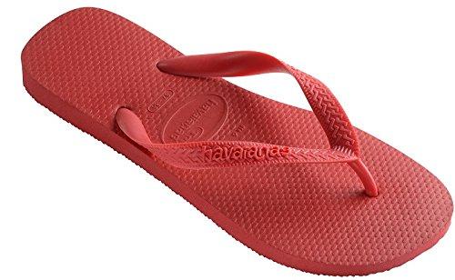(Havaianas Women's Top Flip Flop Sandal,Ruby Red, 41/42 BR(11-12 M US Women's / 9-10 M US)