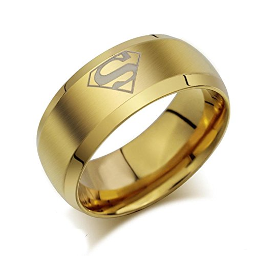Buytra+Jewelry+Superhero+Mark+Men%27s+Fashion+Signet+Rings+Titanium+Stainless+Steel