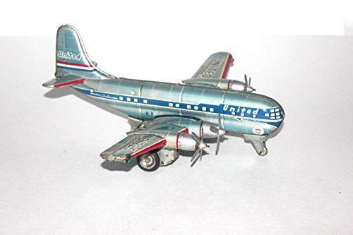 vintage-1950s-nomura-nikko-gangu-kogyo-tin-litho-friction-light-up-stratocruiser-plane-antique-alche