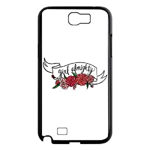Samsung Galaxy N2 7100 Cell Phone Case Black girl almighty BNY_6867446