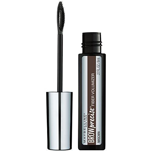 Maybelline New York Brow Precise Fiber Volumizer Eyebrow Mascara, Medium Brown, 0.27 fl. oz.