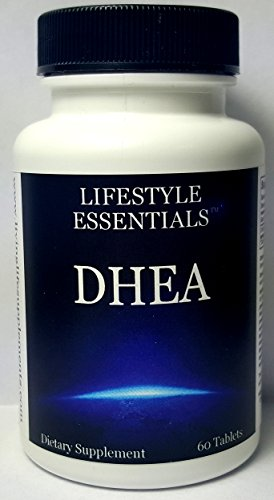 Lifestyle Essentials DHEA 25mg Tablets
