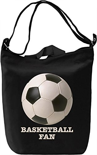 Basketball Fan Borsa Giornaliera Canvas Canvas Day Bag  100% Premium Cotton Canvas  DTG Printing 