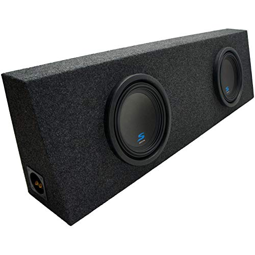 Universal Regular Standard Cab Truck Alpine S-W10D2 Type S Car Audio Subwoofers Custom Dual 10″ Sub Box Enclosure Package New