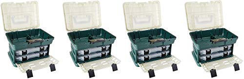 Plano 136200 2-by Rack System 3600 Stowaway Tackle Box (4-(Pack))
