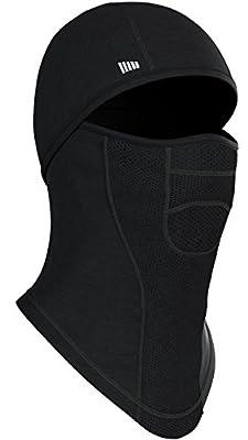 Self Pro Balaclava - Windproof Ski Mask - Fleece Hood - Coldweather Face Motorcycle Mask - Ultimate Thermal Retention & Moisture Wicking with Performance Soft Fleece