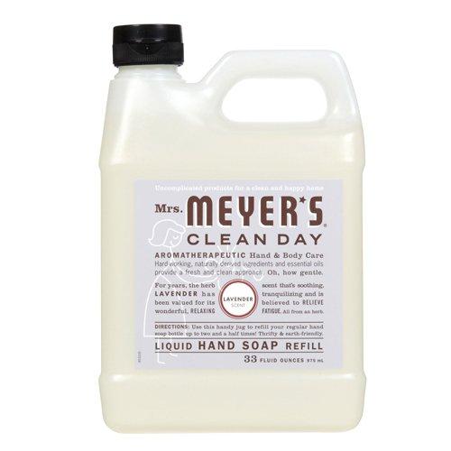 Мейерс Лаванда Жидкое мыло для рук Refill (33 OZ)