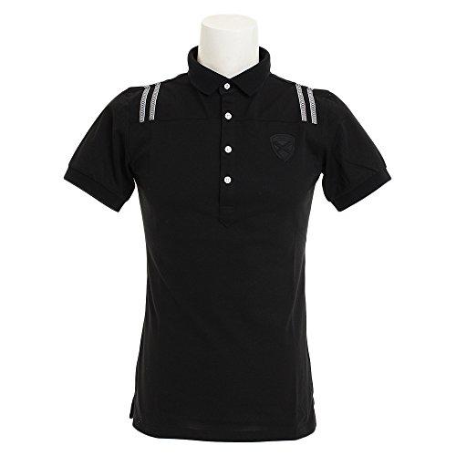 セントアンドリュース(セントアンドリュース) クールマックスポロシャツ 042-8160459-010 (ブラック/LL/Men's)