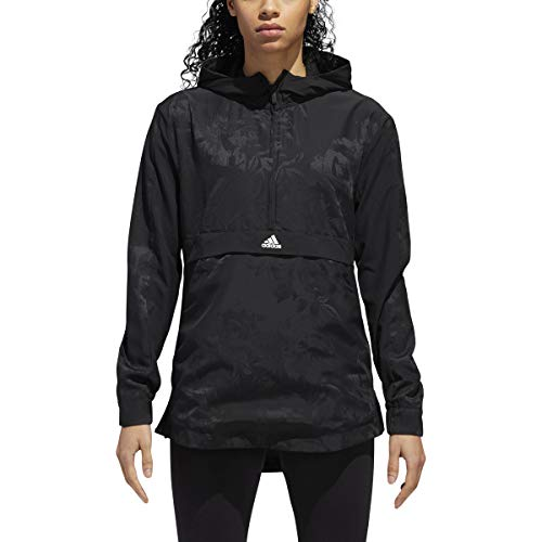 Athletics All Woven Print Adidas Nero Over Shell Id Giacca Donna dxIqwqC