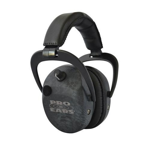 Pro Ears - Stalker Gold - Electronic Hearing Protection and Amplification Earmuffs - NRR 25 - Typhon by Pro Ears by Pro Ears