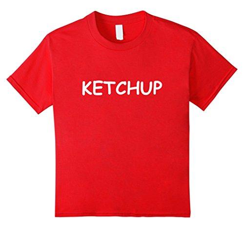 Kids Ketchup TShirt: Best Ketchup Mustard Halloween Costume